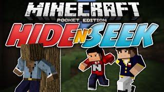 BLOCK PARTY!!! - Hide N Seek (Block Hunt) MCPE  - Minecraft PE (Pocket Edition)