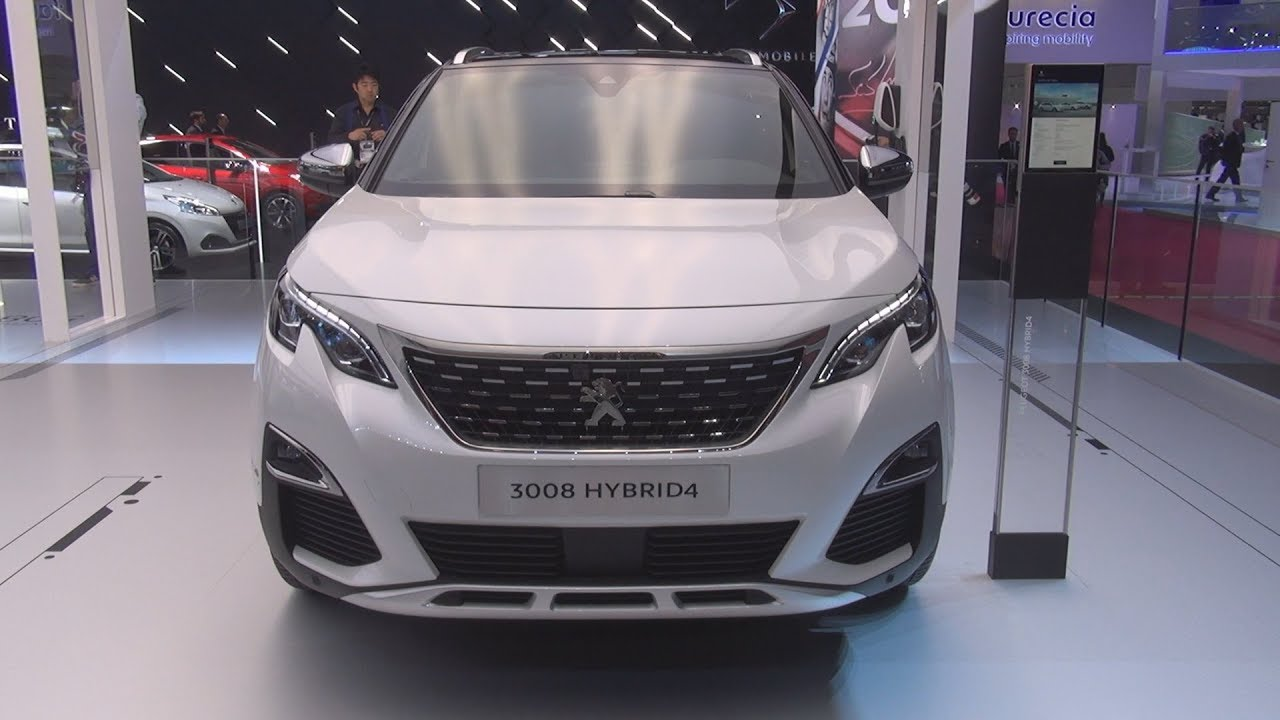 peugeot 3008 hybrid4 (2019) exterior and interior - youtube