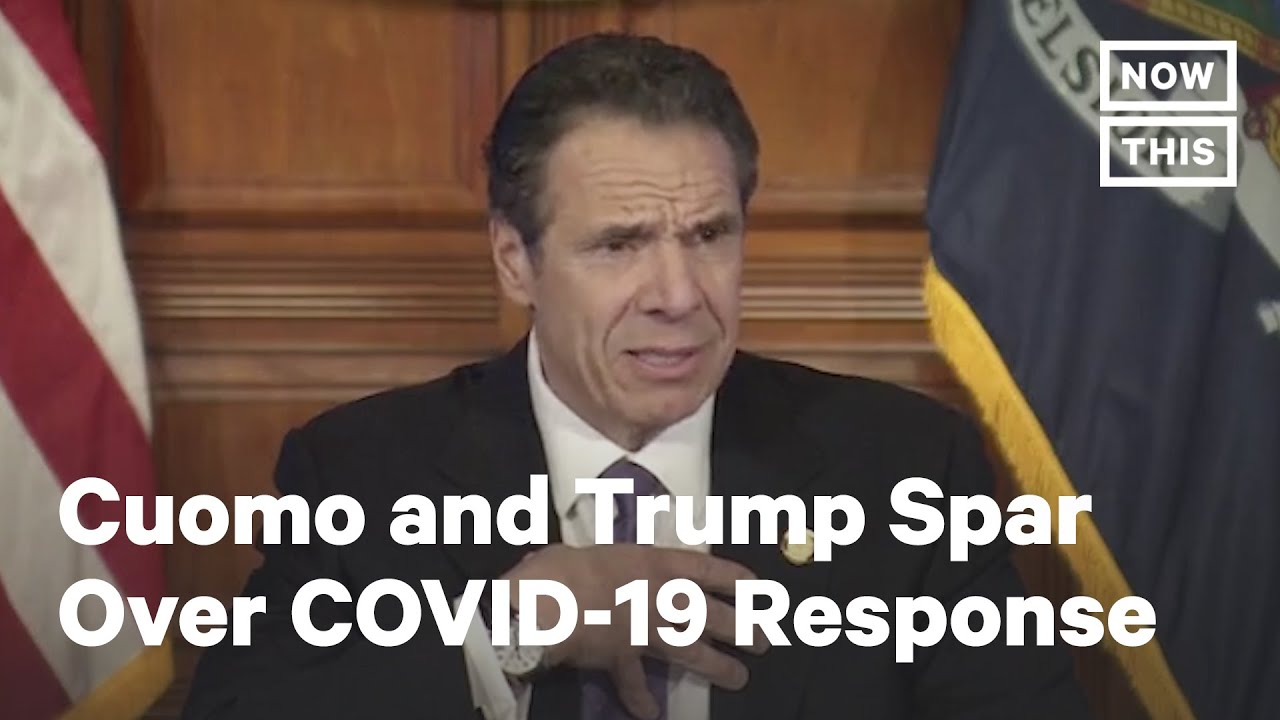 Gov. Cuomo: Trump 'Should Get Up And Go To Work' Instead of Watching TV | NowThis