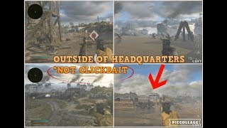 """WW2 BEST GLITCH - HOW TO GET OUT OF """"HEADQUARTERS"""" *NOT CLICKBAIT*"""