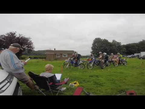 Starting Stage 1 of The Powys Enduro 14 August 2016