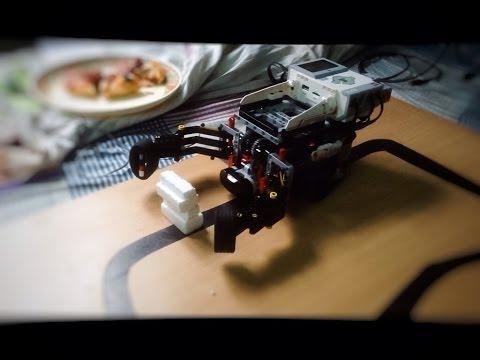 Ev3  grab and lift bot