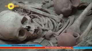 Antalya Arkeoloji Müzesi Tarihe Yolculuk Seramikler Eserler Salonu