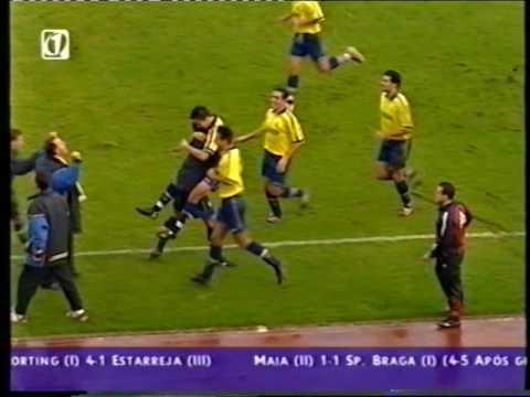 Sporting - 4 x Estarreja - 1 de 2002/2003 4Elim Taça de Portugal