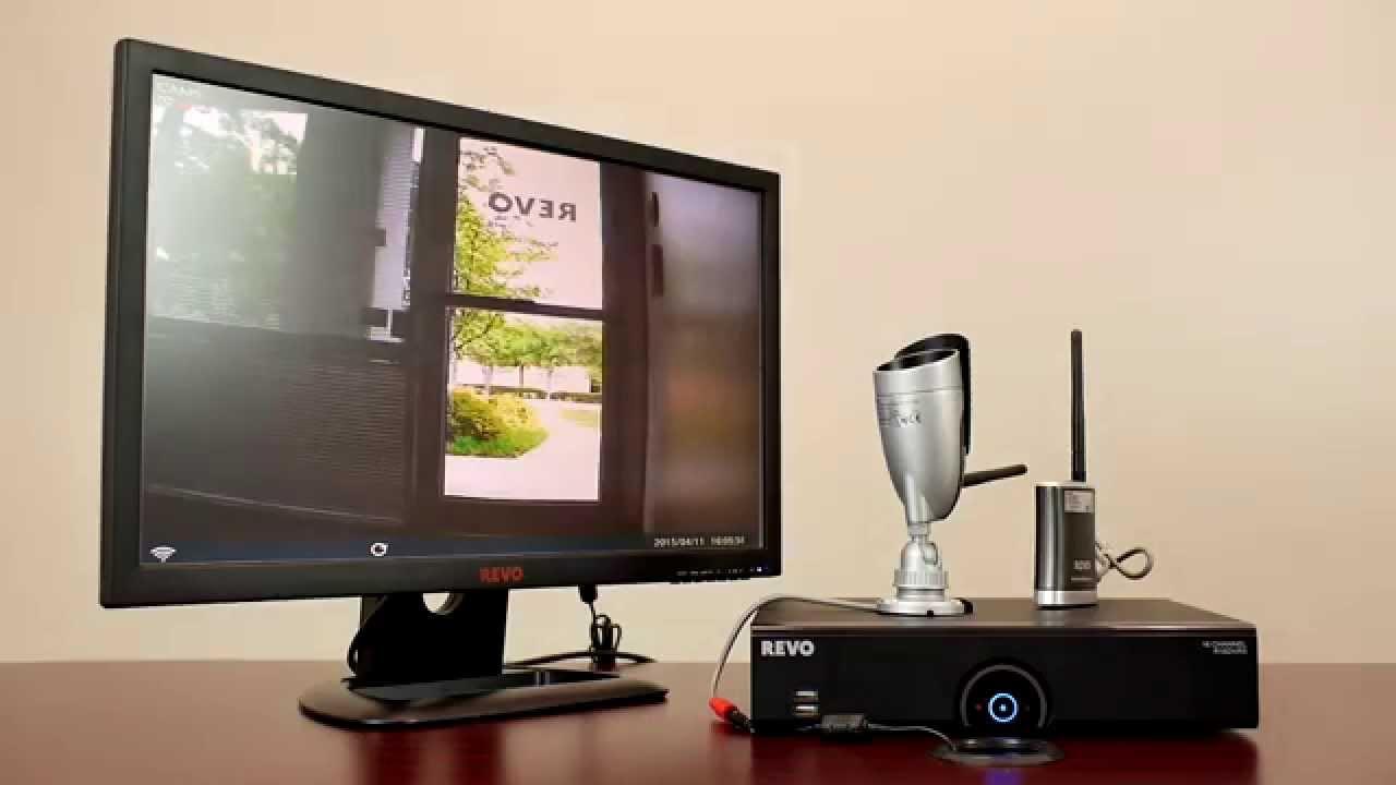 "Revo America 22/"" HD Monitor Screen Works with all Revo DVRs /& NVRs"