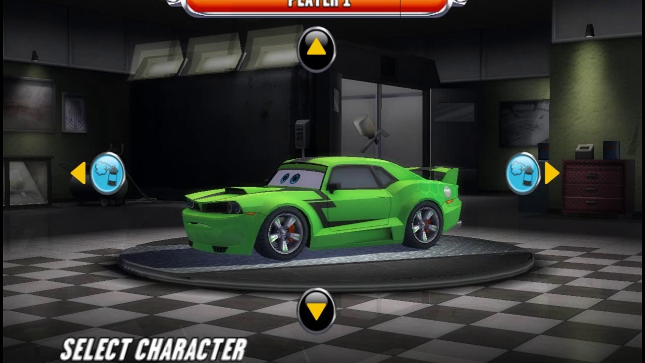 Cars Race O Rama Wii All Characters And Paintjobs Youtube