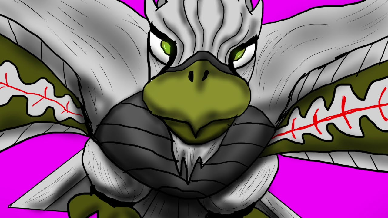 3B Comics Animation:Wilda Beast meets Cy and Aura-Roo
