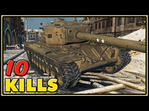 T30 - 10 Kills - World of Tanks Gameplay