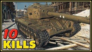 T30 - 10 Kills - World of Tanks Gameplay