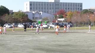 2017 11 03 東葛大会予選 VS豊四季FC 前半