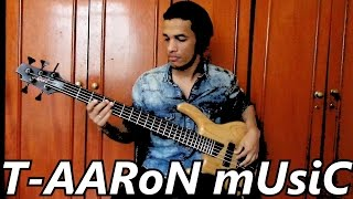 """Davi Carvalho - """"Work"""" track by T-AARon mUsiC (Bass Cover)"""