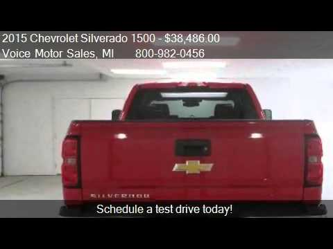 2015 chevrolet silverado 1500 ls 4x4 double cab standard for Voice motors kalkaska michigan