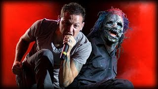 Скачать Linkin Park Slipknot One Step For The Maggots OFFICIAL MUSIC VIDEO FULL HD MASHUP
