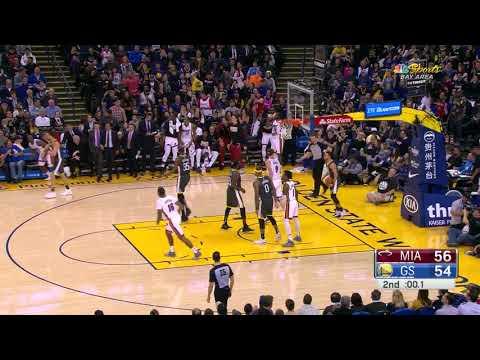 3rd Quarter, One Box Video: Golden State Warriors vs. Miami Heat