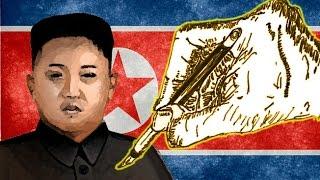Desgarradores dibujos de Corea del Norte hechos por un ex reo