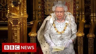 Brexit dominates Queen's Speech to UK parliament - BBC News