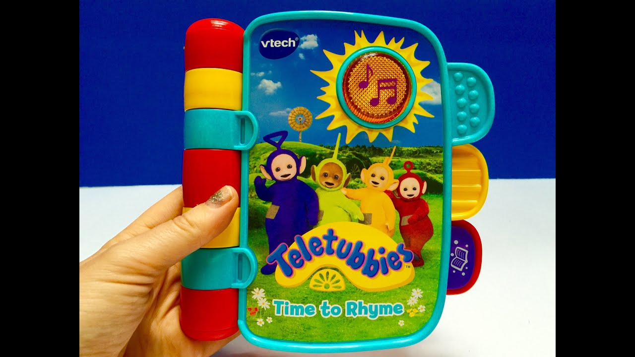 Brand New Vtech Teletubbies Talking Toy Book Opening Youtube