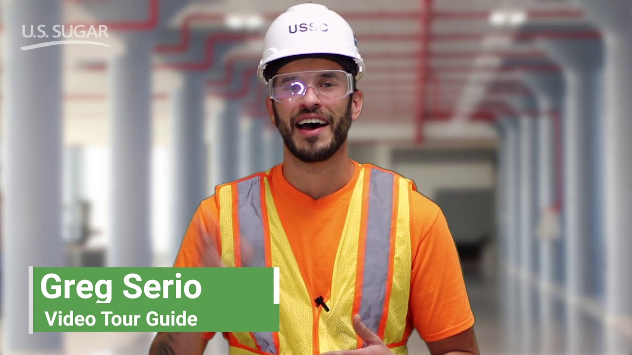 The MILLING Department of U.S. Sugar Corp    Video Tours 2021
