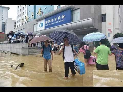 Flood-Wuhan, capital city of central China's
