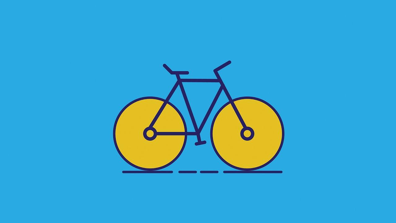 Adobe Illustrator Tutorial | Cycle Logo Design in 6