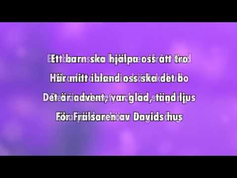 Jonas Björnhager - Det är advent (instrumental - lyrics)