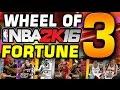 Wheel of NBA 2K Fortune 3