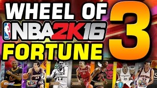 Wheel of NBA 2K Fortune 3