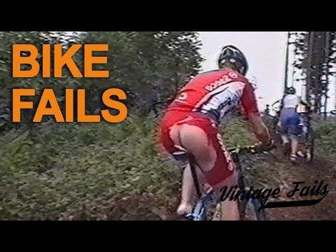 Vintage Fails Compilation #10 - Bike fails - Old but funny!