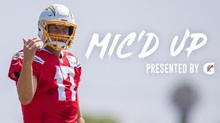 "Philip Rivers Mic'd Up at Training Camp, ""He don't have a helmet on!"" 
