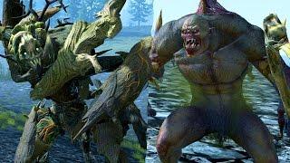 Tree Man Versus Crypt Horror - Massive Battle Total War Warhammer