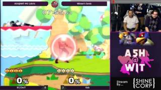 Kels (Falco) vs IX | Oro?! (Sheik) - ASH@WIT #43 Melee Winner's Semis
