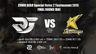 ZOWIE GEAR Special Force 2 Tournament 2015 - Final Round