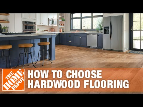 How to Choose Hardwood Flooring: Solid or Engineered Wood? | The Home Depot