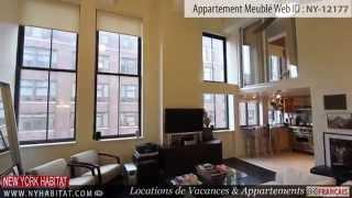 Visite guidée en vidéo d'un appartement T2 en duplex dans le West Village à Manhattan