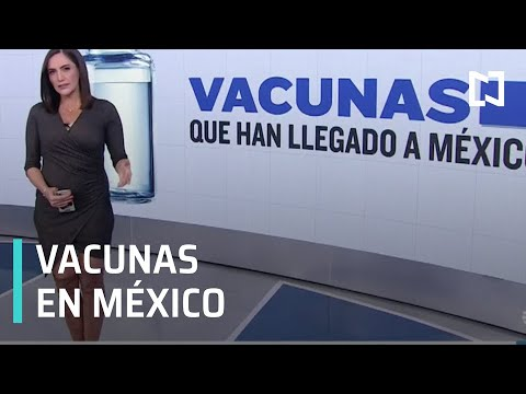 ¿Qué vacunas contra COVID-19 han llegado a México? - Despierta