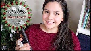 Christmas Home Decor Tag || VLOGMAS DAY 6