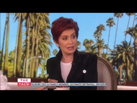 Sharon Osbourne SLAMS Dannii Minogue again
