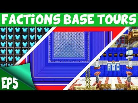 Minecraft Factions BASE TOUR - BEAUTIFUL $10,000,000 SENIOR MOD BASE!