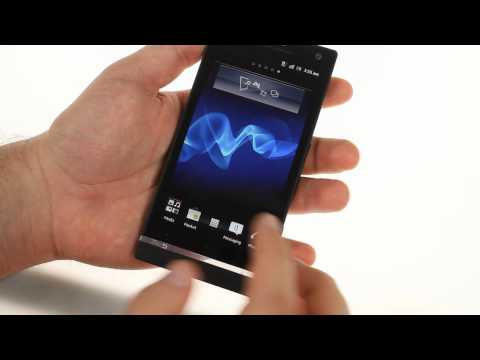 Unboxing the Sony Xperia S
