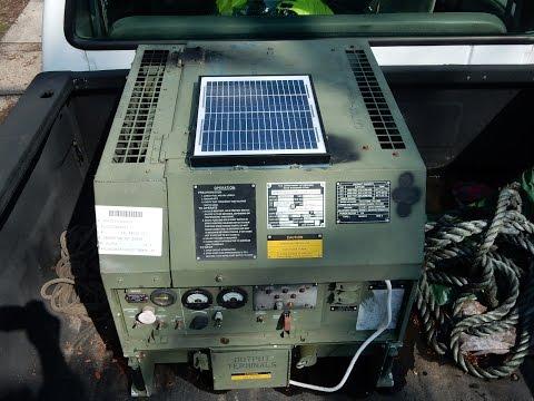 3k Diesel Generator MEP 831A  120v & 240v For Sale