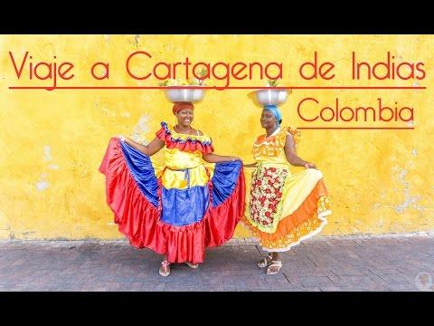 Viaje a Cartagena de Indias Colombia, el color del caribe colombiano !