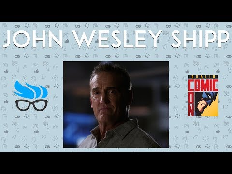 Geek Ireland Meets - John Wesley Shipp @ Dublin Comic Con 2017
