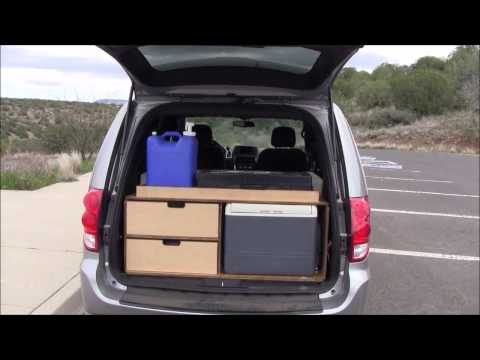Gonecamper Kitchen Galley Minivan Camper Youtube