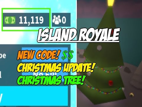 Island Royale Code 2018 December Christmas Update Youtube