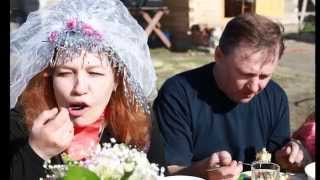"""фотофильм  юбилей свадьбы """"Свадьба в малиновке"""""""