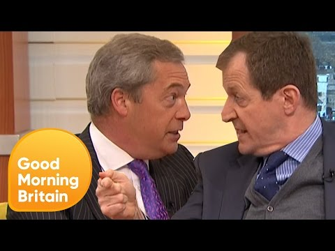 Piers Loses Control of Nigel Farage's Brexit Row With Alastair Campbell | Good Morning Britain