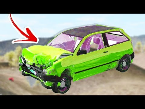 This Game Was BeamNG.....Before BeamNG! AWESOME CRASHES! - Rigs Of Rods Gameplay