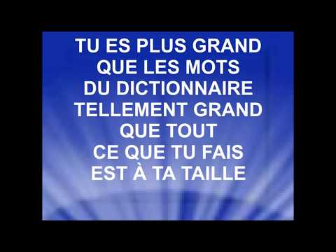 TU ES PLUS GRAND - Nadège Mbuma