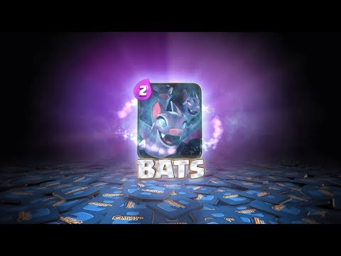 Clash Royale: BATS! (New Card!)