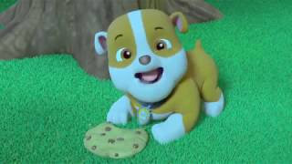 Paw Patrol Rubble A Saw a Ghost